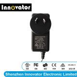 L'efficacité 24W 12V 2A Type de bouchon adaptateur secteur pour l'audio, certifiés par le MRC
