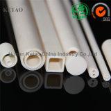 Tubo de cerámica del alúmina avanzado 99.5% para el horno del calentador, alúmina Roces sólidos de cerámica