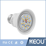 Blanco caliente/natural/fresco Plastico LED de la luz de bulbo de aluminio baja de E27/B22/E14
