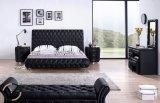 Base di cuoio verticale della mobilia domestica moderna doppia