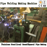 Soldadura automática da tubulação que dá forma fazendo a máquina