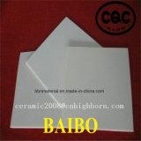 Placa cerâmica da alumina feita sob encomenda da pureza elevada 96%
