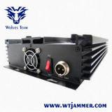 8 Regelbare banden Al Blocker van de Telefoon van Wimax van de Frequentie 3G 4G GPS VHF van WiFi UHFStoorzender (Europese Versie)