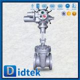 Válvula de puerta eléctrica de Wcb del borde de Didtek para la refinería