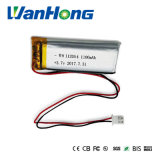 bateria do Li-Polímero de 112054pl 1100mAh 3.7V para o estéreo pessoal