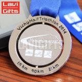 Venta caliente la Fundición de aleación de zinc personalizadas Custom Premios Medalla de la Natación