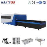 Ce/ISO 500W 1000W Legierungs-Edelstahl-Faser-Laser-Ausschnitt-Maschine