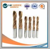 Brocas de carburo de torsión de brocas de perforación de barrenos