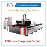 Machine de découpage inoxidable de laser de fibre de commande numérique par ordinateur d'acier du carbone (FLS3015-1000W)