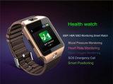 Relógio esperto do monitor SOS do oxigênio do sangue da pressão sanguínea de frequência cardíaca