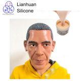 Borracha de silicone da carcaça da vida para fazer a máscara do corpo humano/silicone/o protético