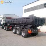 3 Axles 35cbm Dumper коробки трейлер сброса трейлера Semi каменный