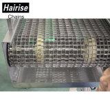 Convoyeur à courroie de la machine en acier en plastique pour Tunnel pasteurisé