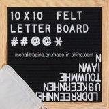 Panneau normal de lettre de bâti de chêne