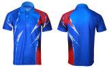 最もよい品質の運動男女兼用のスポーツのポロのTシャツデザイン