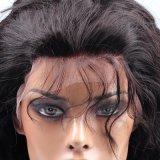Pelucas onduladas vendedoras calientes del cordón lleno malasio con la peluca natural del pelo humano de la rayita