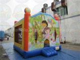 Heiße Verkaufs-aufblasbarer Luft-Prahler, Trampoline für Kinder