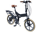"""セリウム20の""""隠されたリチウム電池が付いている完全な中断都市電気折るバイク"""