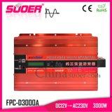 Suoer nuevo DC 12V AC 230V 3KW inversor Onda senoidal pura inversor de Energía Solar (FPC-D3000A)