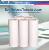 Roulis foncé/léger de qualité d'éléphant d'Eco-Dissolvant de transfert thermique de vinyle de papier avec le bon prix