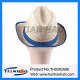 Мода Fedora Trilby Nutural головной убор соломы с лентой