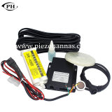 Sensor do combustível com o GPS que segue o dispositivo