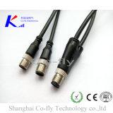 4 Actuator van de Sensor van de Kabel van de Stop van de speld M12 de Waterdichte Splitser van de Schakelaar Y