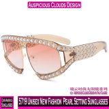 5719 Unissexo Moda Nova Pearl definindo os óculos de sol
