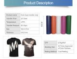 La sublimation troupeau en vinyle de transfert de chaleur pour la chaleur en appuyant sur T-Shirt