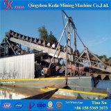 Bateau de dragage pour l'exploitation de sable d'or