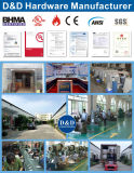 Het aangepaste Handvat van het Roestvrij staal van de Deur voor Europa met de Certificatie van Ce