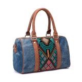 Nuova borsa ricamata Jean del sacchetto della signora spalla di disegno 2018