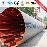 High Performance Wood Drum Rotary drill Dryer with It