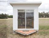 Casa Prefab da caravana da casa do reboque móvel