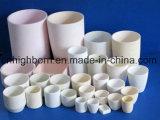 Creuset en céramique de fonte de Zirconia de platine
