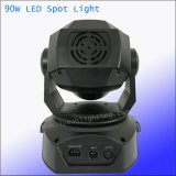 90W Gobo Spot Cabezal movible LED de luz por parte
