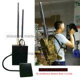 5bandas Man-Pack defensor de seguridad de protección con aviones no tripulados Uav Jammer