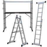 Escalera de aluminio/de acero del andamio de Ringlock para la construcción