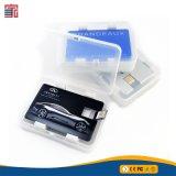 Azionamento dell'istantaneo del USB di stile della carta di credito del metallo della Cina Alibaba 1GB 2GB 4GB 8GB 16GB 32GB 64GB