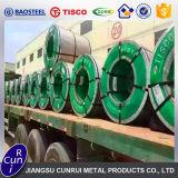 Decorativa de 1 mm bobina de acero inoxidable AISI 304 Precio por Kg.