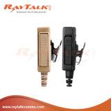 Aufspalten-Draht Überwachung-Hörmuschel mit umsponnenem Kabel für Motorola Gp328