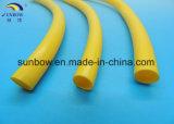 Tubo di gomma solido del silicone dell'espulsione