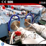 Коническая твиновская машина штрангпресса трубы PVC профиля PVC винта