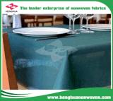 비 테이블 덮개를 위해 길쌈하는 물 증거 100% PP 짠것이 아닌 PP Spunbond