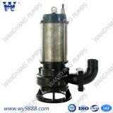 La serie wq bomba eléctrica sumergible de aguas residuales
