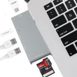 USB 3.0 유형 C에서 MacBook의 HDMI USB 3.0 허브 3 포트 TF SD 카드 판독기 접합기6 에서 1