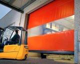 Дверь штарки завальцовки самоконтроля промышленная с тканью PVC (Hz-H581)