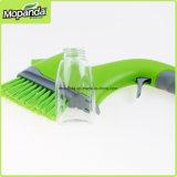 Cepillo de plástico de agua de la mano con el interruptor de intercambiables Cabezal