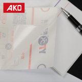 Escrituras de la etiqueta de envío blancas impermeables del trazador de líneas del papel cristal del bajo costo