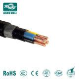 Conductor de cobre de 4 núcleos aislados con PVC Blindado con alambre de acero de 95mm cable de alimentación